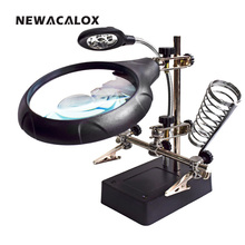 Glass Repair Stand Magnifier
