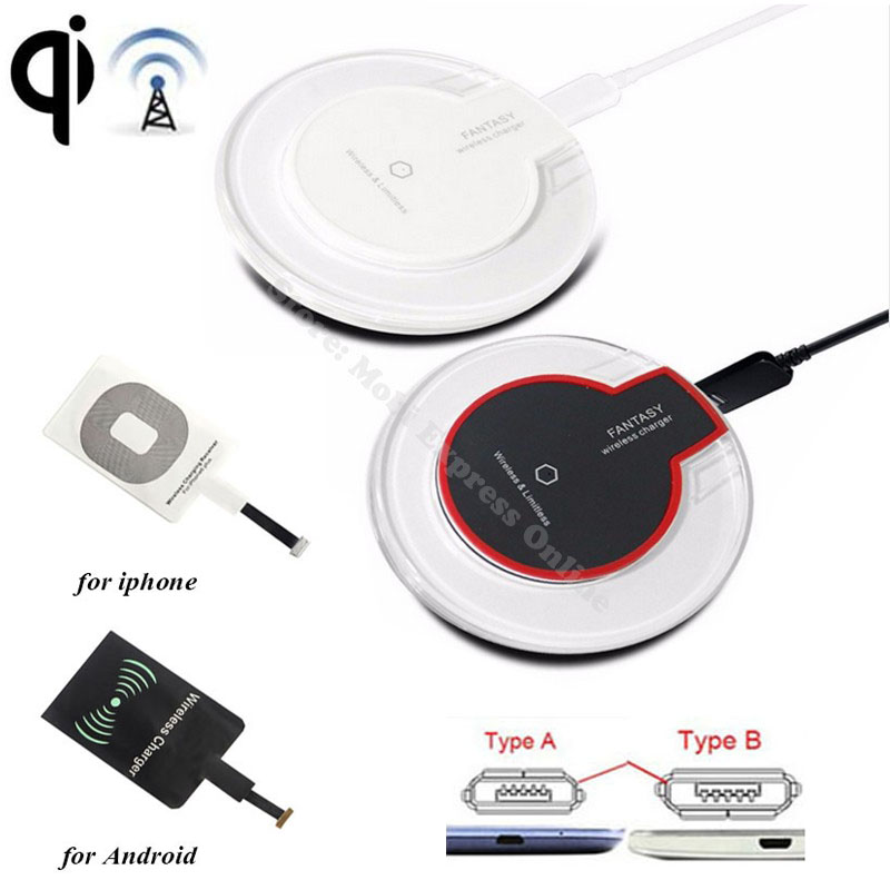 Qi Wireless Charging Charger Receiver For Samsung Galaxy