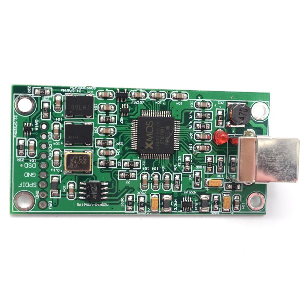 Lusya mise à niveau SITIME crystal XMOS XU208 USB 384 K 32B module I2S SPDIF sortie prise en charge DSD pour ES9018 9028 9038PRO DAC A6-012 - 2