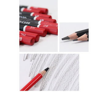 Image 5 - Juego de lápices de dibujo profesional para estudiantes, Kit de 30 Uds de lápices de bocetos 2B 3B 4B 5B 6B 8B HB 2H 3H