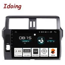 Я делаю 10,2 «4G + 64G Octa Core автомобильный Android8.0 Радио мультимедийный плеер Fit Toyota Prado 150 2014 2.5D ips Экран gps навигации PX5