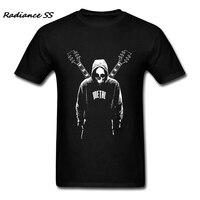 Fashion Print Mens T Shirt Customized Rock Music Hip Hop Printed Metal T Shirt Adult Tees