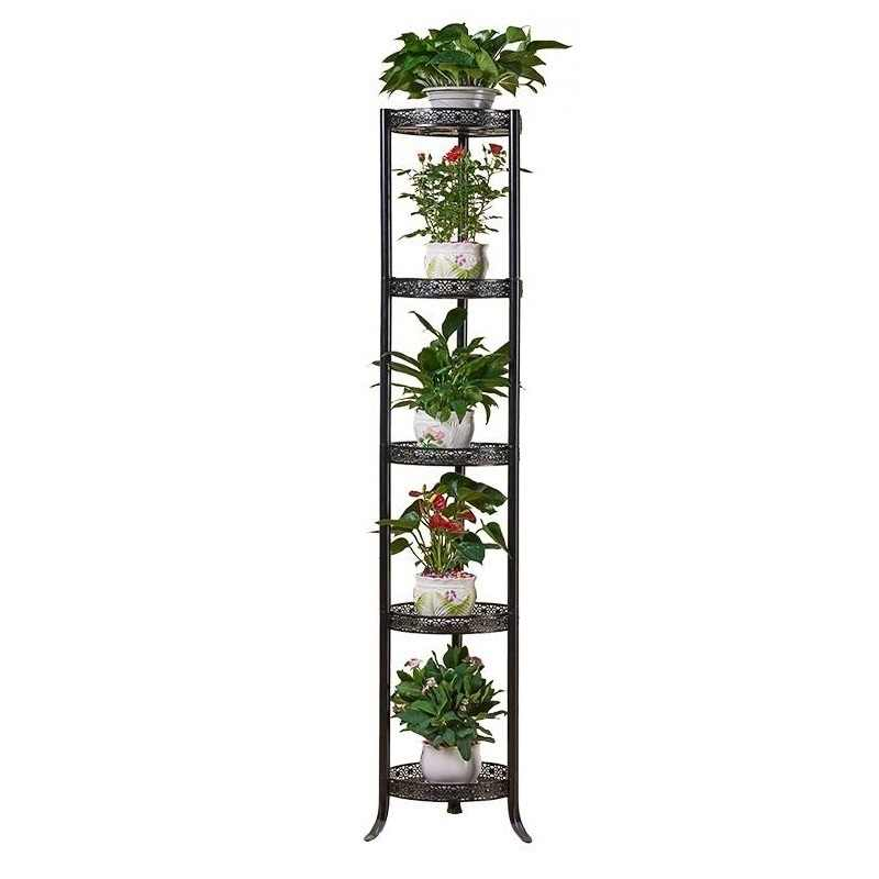 Decorative Metal Mensole Per Fiori Garten Dekoration Decoracion Exterior Balkon Saksisi Balcon Balcony Stand Flower Plant Shelf
