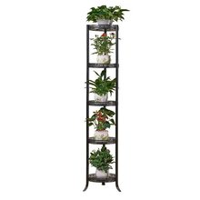 Decorative Metal Mensole Per Fiori Garten Dekoration Decoracion Exterior Balkon Saksisi Balcon Balcony Stand Flower Plant Shelf(China)