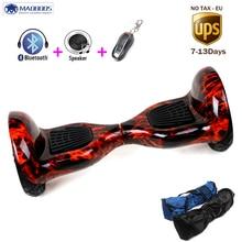 RU lager 10 zoll 2 räder roller Skateboard Elektrische Einrad Drift Selbstausgleich skywalker Stehen balance hoverboard