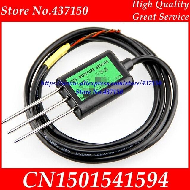 Capteur dhumidité et de température du sol capteur dhumidité du sol 4 20 ma/0 5 V/RS485/0 10 V capteur dhumidité du sol/capteur de température du sol 2 en 1