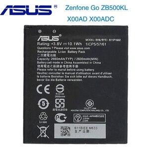 Image 1 - Oryginalny ASUS B11P1602 telefon bateria do ASUS Zenfone przejść ZB500KL X00AD X00ADC 2600mAh