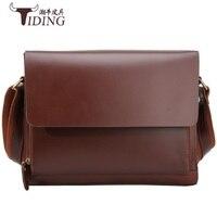 Man Travel Business Shoulder Bags Cow Leather 2019 Male Ipad Crossbody Briefcase Shoulder Messenger Bag Brand Vintage Casual