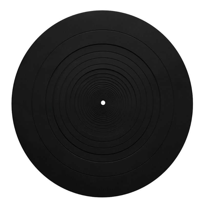 Anti-vibration Silicone Pad Rubber LP Antislip Mat For Phonograph Turntable Vinyl Record Players Accessories