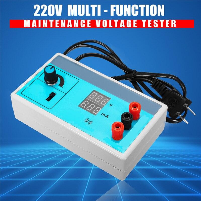 AC 220V LED Light Tester Bead Board Tire Repair Lamp Dual Display Screen Backlight LCD Test Measurement Tools