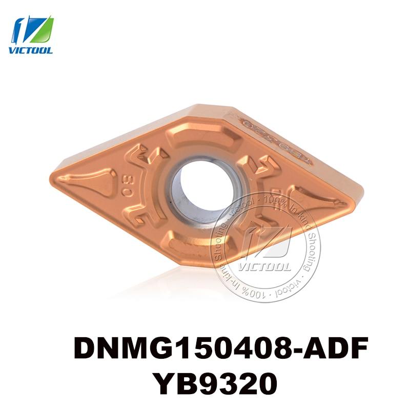 carbide turning insert tools DNMG150408 ADF YB9320 CNC tool for semi finishing and finishing DNMG 150408