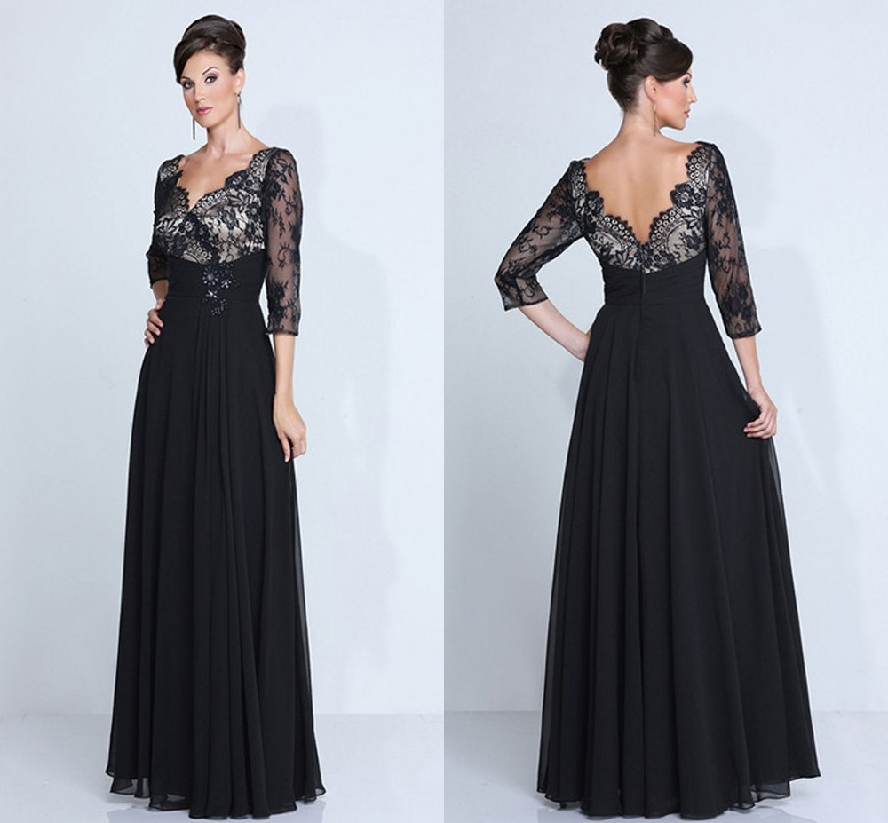 Black Wedding Gowns For Sale: Aliexpress.com : Buy Hot Sale Chiffon Mother Of The Bride