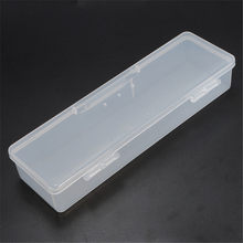 PP Transparent Plastic Box Storage Box Rectangular Tool Plastic Collecting Transparent Nail Tips Case Jewelry Watch Boxes(China)
