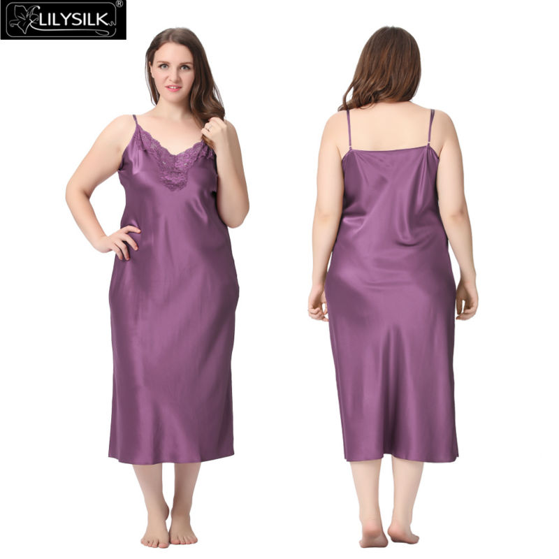 1000-violet-22-momme-lacey-neckline-silk-nightgown-plus-size-01