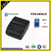 58mm Portable Thermal Bluetooth Receipt Printer POS 5802LD support Android system Phone