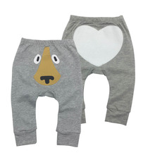 2019 Baby Girl Boy Pants summer clothes baby Bodysuits Cartoon Casual Toddler Bottoms newborn trouser