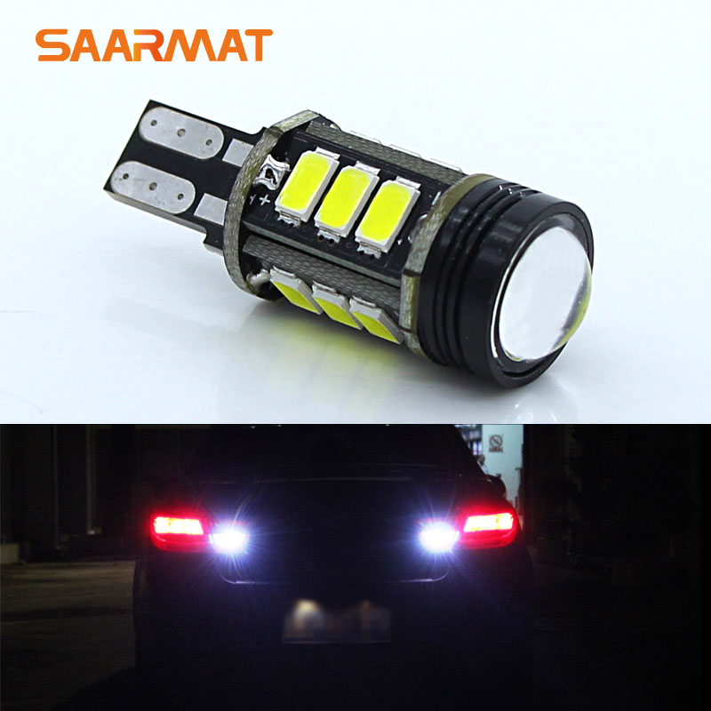 2x T15 W16W 921 Car LED Light Backup Reverse Tail Bulb For Nissan 370Z Altima Armada Cube Frontier GT-R Juke Leaf Maxima Murano