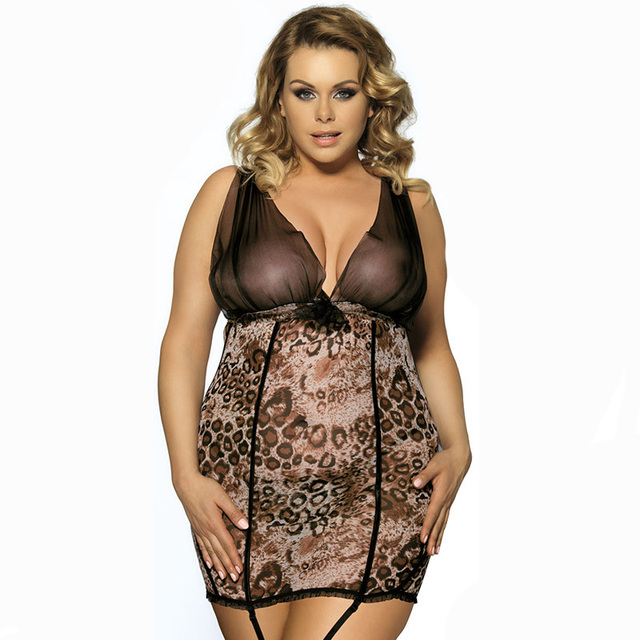 ab0b6710d4 Summer Women Sexy Large Size Lingerie Night Pajamas Lace Sleep Dress Sleepwear  Woman Temptation Charm Nightgowns