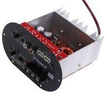 لوحة مكبر صوت جديد OOTDTY 120 وات 8 12 بوصة بأنبوب 12 فولت للسيارة Tritone /Pure Bass