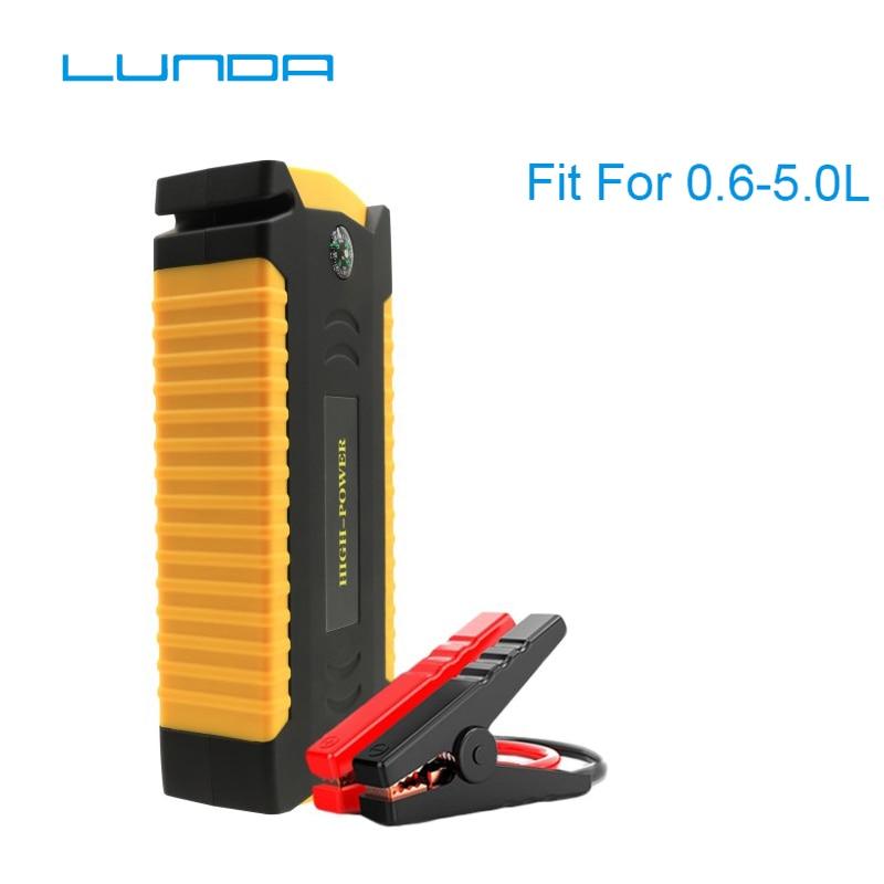 LUNDA 19B Auto starthilfe Große entlastung rate Diesel power bank für auto Motor fahrzeug booster starten jumper batterie