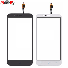 BKparts 5pcs Free shipping Touch Glass For ZTE Blade A310 Touch screen and Touch panel Digitizer Replacement
