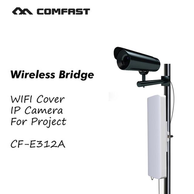 COMFAST CF-E312A Беспроводной мост wifi Открытый беспроводной маршрутизатор CPE 300 Мбит WI-FI AP Антенны wi-fi signa усилитель для проекта обложка