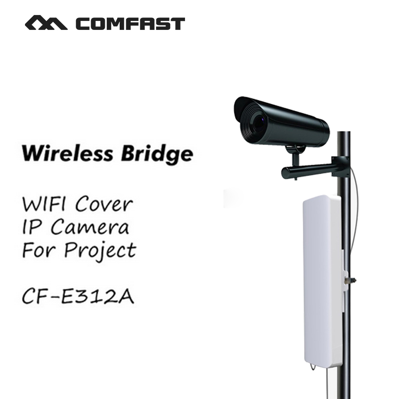 все цены на COMFAST CF-E312A Wireless bridge wifi Outdoor wifi router CPE 300Mbps WIFI AP Antenna wifi signa amplifier for project cover онлайн