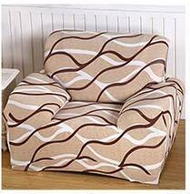 Spandex Stretch Beige Flower Sofa Cover Big Elasticity 100% Polyester Owl Sofa Furniture Cover