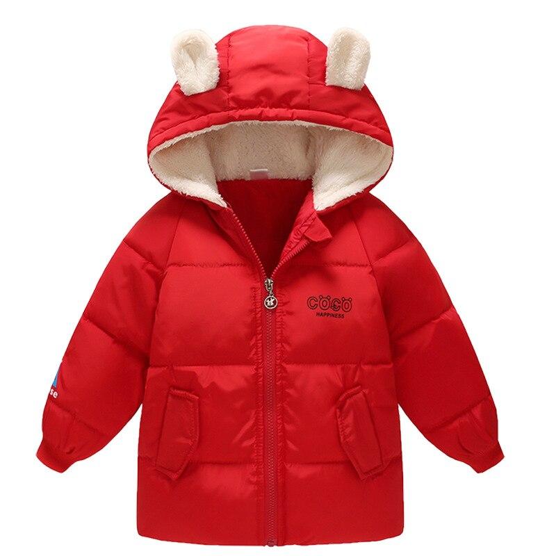 100% Kwaliteit Winter Jas Voor Kids Bear Capuchon Meisje Witte Eendendons Peuter Meisje Kleding Rits Peuter Winter Jas Jongens Uitloper Top Zo Effectief Als Een Fee Doet