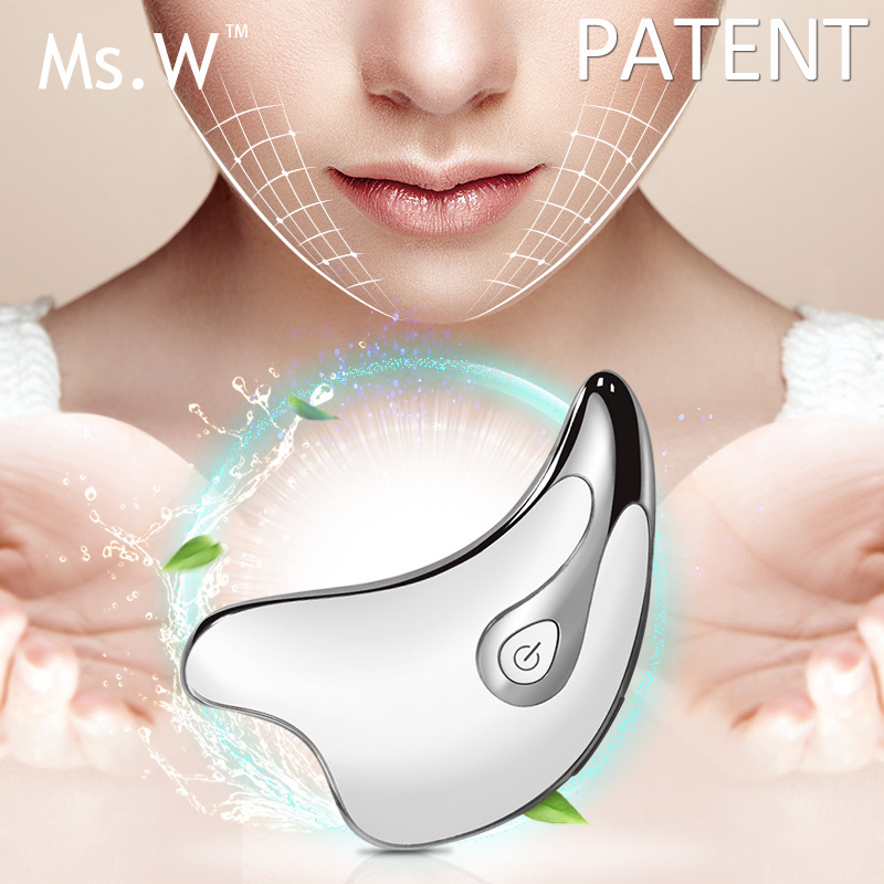 USB Rechargeable Vibration Thin Face Massager Beauts