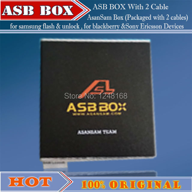 gsmjustoncct Newest version ASB Box / AsanSam Box with 2pcs cables for samsung flashing,for blackberry &Sony Ericsson Devices
