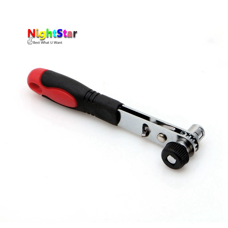 цена на Mini Rapid Ratchet Wrench 1/4 Screwdriver Rod 6.35 Quick Socket Wrench Tool