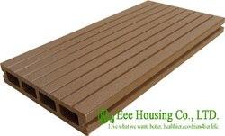 Анти-Влага и термиты открытый WPC настил для сада, легкая установка, низкое обслуживание, деревянный пластиковый композитный настил