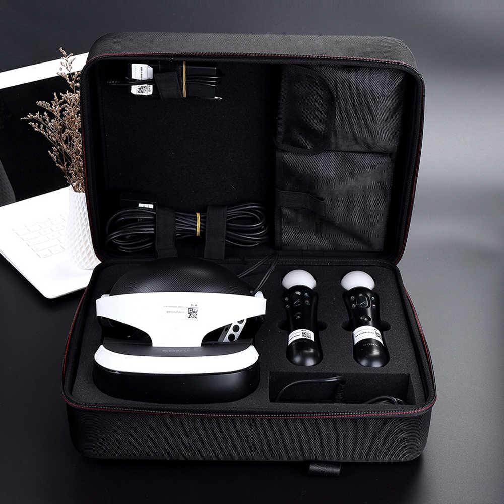 ใหม่เก็บ Bax สำหรับ Sony PlayStation VR & PS4 Travel Gadget ออแกไนเซอร์สำหรับ PS VR, PS4 เกมคอนโซลและอุปกรณ์เสริม