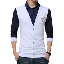 New Men's Shirts Solid White Cotton Spring Brand Men Clothes Slim Fit Long Sleeve Shirt Casual Men Shirt Social Plus Size 5XL