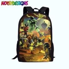 Ninjago School Backpack For Children Cute Cartoon Movie Printed Bag Kids  Boys Girls School Supplies Large 313ff40d37a7c