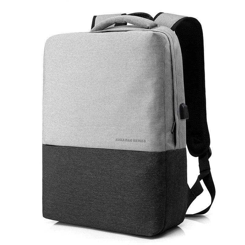 USB kanken backpack men luxury computer backpack student science and technology schoolbag light male bag leisure shoulder bag pierre audibert mathematics for informatics and computer science