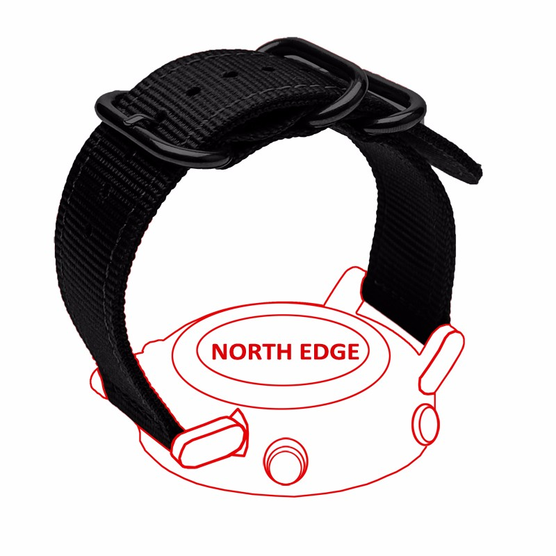 NorthEdge watchband font b watch b font strap band sports outdoor digital For Range
