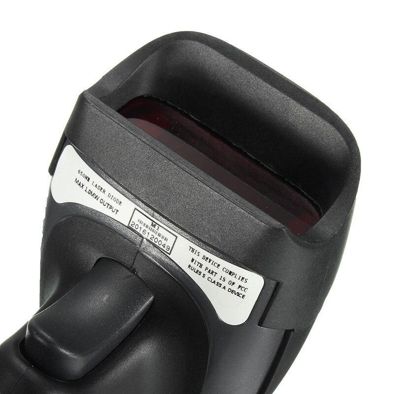 Портативный USB Порты и разъёмы лазерный сканер штрих-кодов для pos компьютер сканирования сканер штрихкодов читатель сканирования пистолет ...