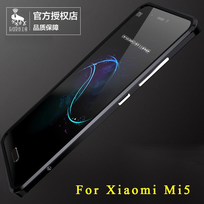 """bilder für Luxus Metall Xiaomi Mi5 Fall Ursprüngliche Luphie Marke xiaomi mi5 pro prime cover Aluminiumrahmen Bumper Für Xiaomi mi 5 fälle 5,15"""""""