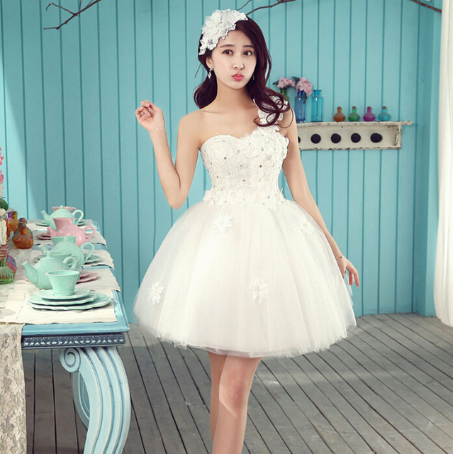 short ivory lace homecoming tulle petite formal dress girl tulle ...