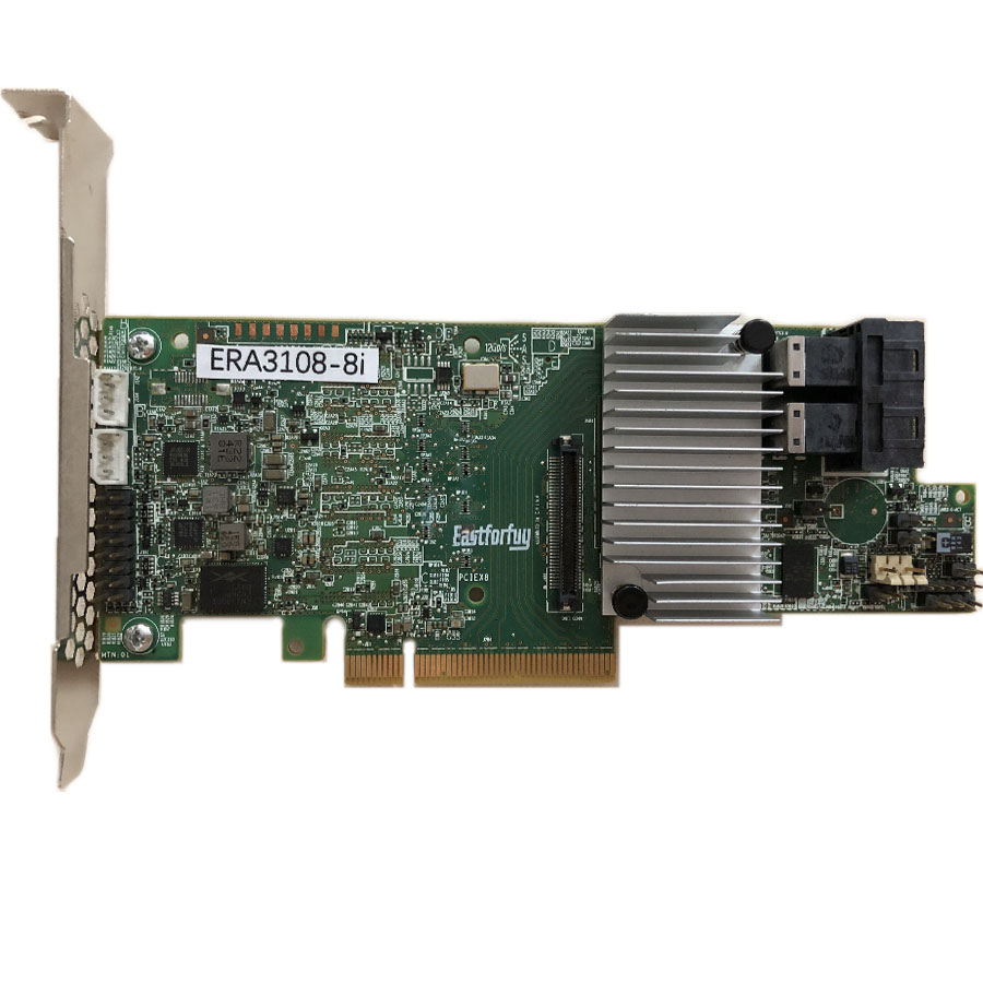 Eastforfuy  SAS ERA3108-8i 8 Port 1G Cache SFF8643 12Gb RAID0.1.5.6 PCI-E 3.0 X8 Controller Card(China)