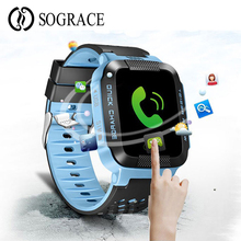 Youngsters GPS Good Watch G21 Tracker For Youngsters Secure SOS Name Anti-Misplaced Watch Telephone Contact Display Smartwatch For Kids PK Q100 Q90