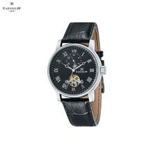 Наручные часы Earnshaw ES-8042-01 мужские механические с автоподзаводом на кожаном ремешке