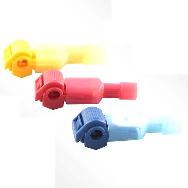 10PCS Red Blue Yellow Scotch Lock Quick Splice Crimp Terminal Wire Convenient Connector for 0.5-1.0 0.75-2.5 4-6 mm2 Line