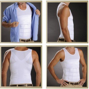 fef7aaf196538 Slimming Shaper Vest Men Slimming Belt Body Shaper Gym Corset Tummy Waist  Trainer Training Corsets Sport Vest-in Slimming Product from Beauty   Health  on ...