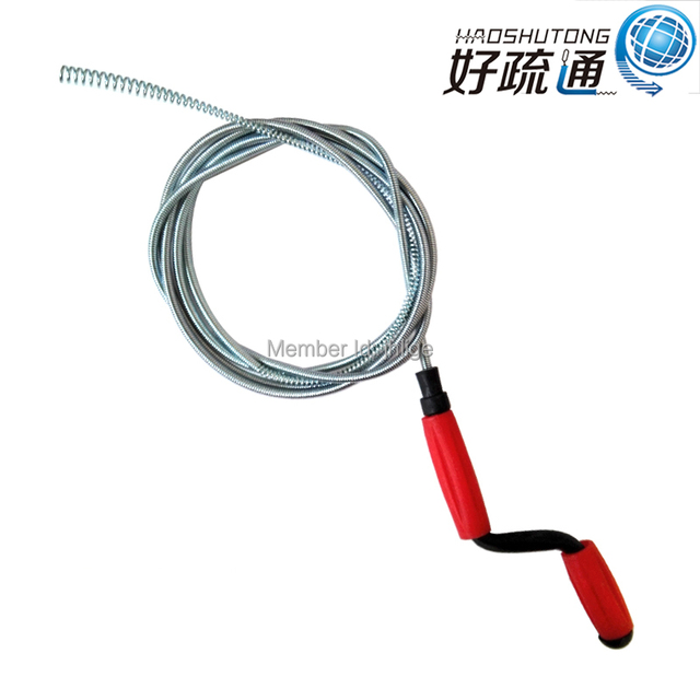 eco friendly spring drain cleaner wire drain snakedrain pipe cleaner - Drain Pipe Cleaner