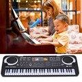 HOT New 61 Teclas Regalo Regalo de Música para Teclado Electrónico Teclado de Piano Eléctrico Digital de AGOSTO 31