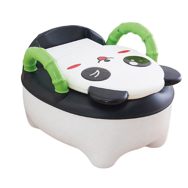 2017 Populares Do Bebê Potty Training Wc Panda Crianças Gaveta Potty Higiênico Mictório Para Bebês Criança Crianças Mictórios 8M-6Years