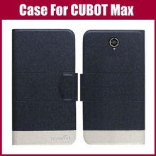 CUBOT Max Case New Arrival 5 Colors High Quality Flip Leather Exclusive Phone Cover Case For CUBOT Max Case